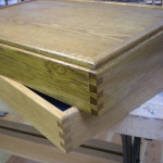 sandtray, oak with dovetails